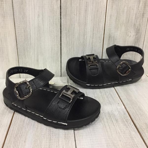 Летние босоножки черные для  мальчика