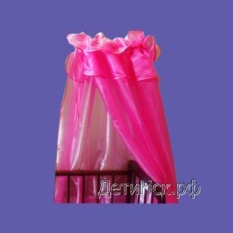 Фото Швейные изделия (Наборы для выписки, пеленки ит.д., Комплекты в кроватку (собтсвенное производство) ШБ003 Балдахин 003 (Органза 3м)