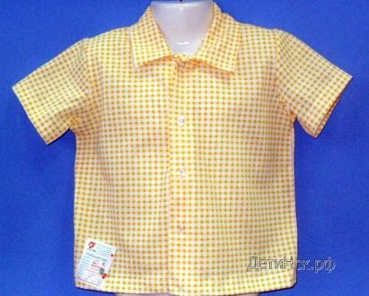 Рубашка ТН003 (короткий рукав, клетка)