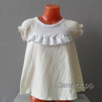 Фото Платья детские, Платье трикотажное (Хлопок 100%) Платье дет. ОЖ011