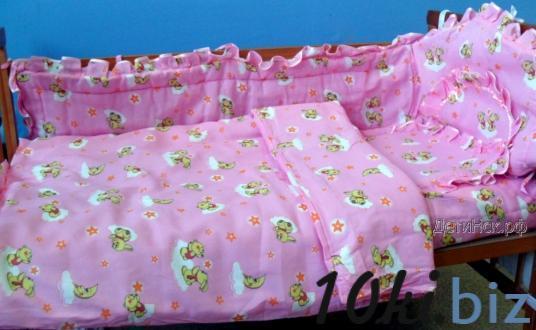 """Комплект 5-и предметный в кроватку """"Кроха-5"""" Костюмы и наборы для новорожденных на рынке Восток в Новосибирске"""