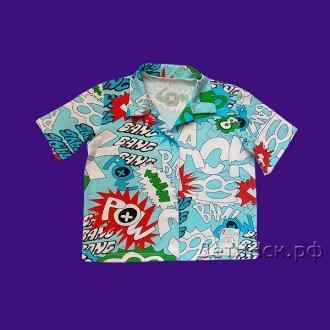 Рубашка ПК003 (короткий рукав)