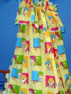 Фото Швейные изделия (Наборы для выписки, пеленки ит.д., Комплекты в кроватку (собтсвенное производство) ШБ001 Балдахин 001 (с бязью)