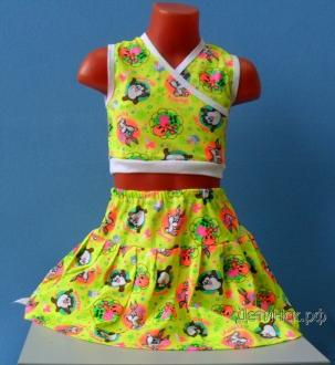 Комплект Топик+юбка ТК002