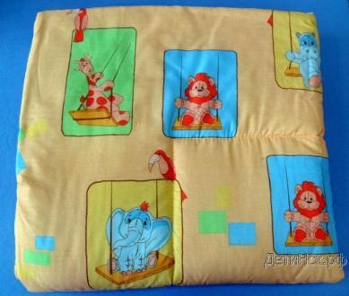 Одеяло дет. 001 110*120 (с кантом)