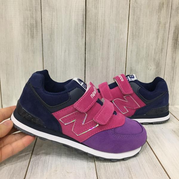 Кроссовки детские New Balance фиолетовые