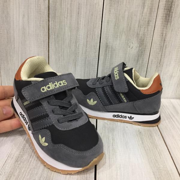 Кроссовки детские Adidas серые