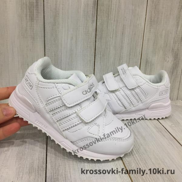 Фото Детские кроссовки Кроссовки детские Adidas белые