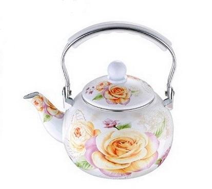 Чайник эмалированный WELLBERG GARDENIA 2,2 л. WB-3490