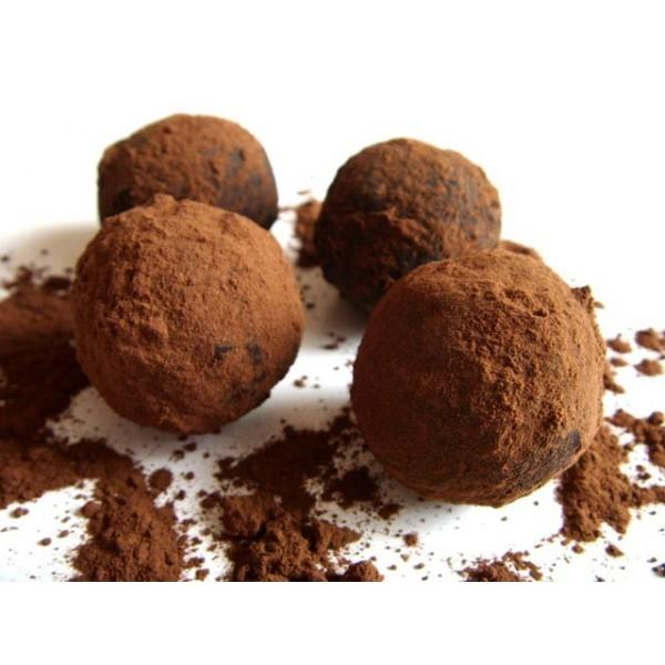"""Набор сыроедческих конфет """"Шоколадно-цитрусовые"""", 12 шт."""