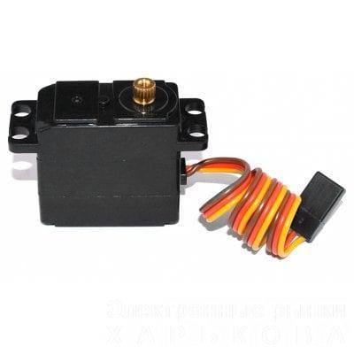 Сервопривод средний для машинок 1/14, 1/16, 2,2кг - Комплектующие для радиоуправляемых игрушек и моделей на рынке Барабашова