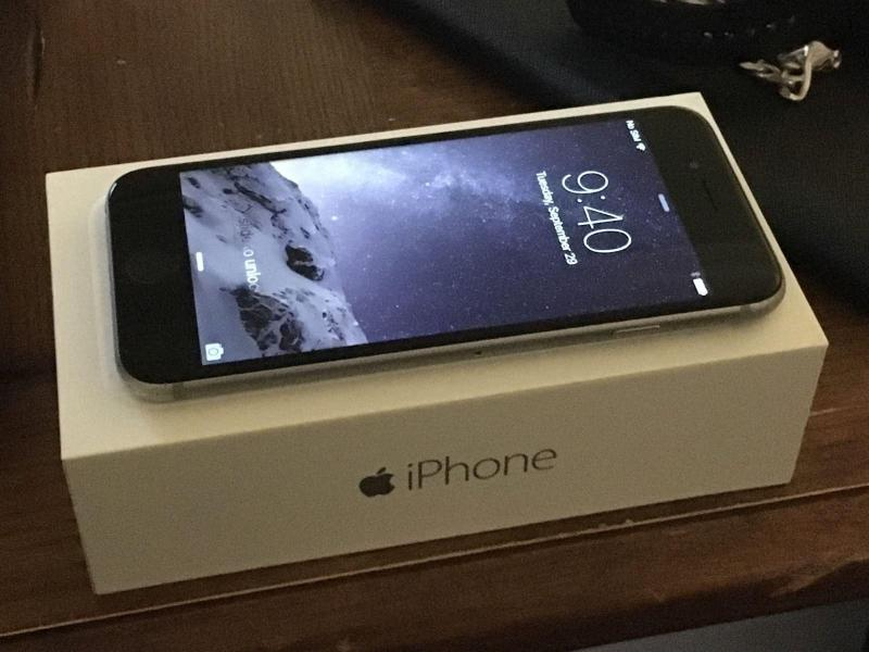 IPhone 6S 128gb Space Gray neverlock/ без TouchID