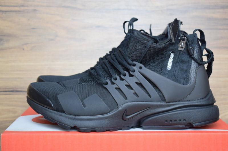 Фото  Nike Air Presto Mid Acronym Black (41-45)