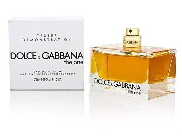 Фото ТЕСТЕРА женских духов Духи Dolce & Gabbana The One Tester Для Женщин 75 ml