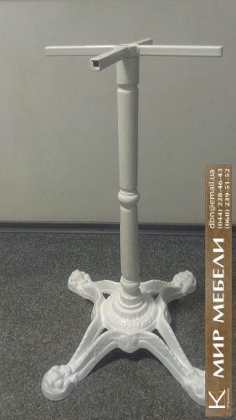 Фото  Опора для стола из чугуна Сен-Тропе. Ножка для стола, база, основа для стола, подстолье