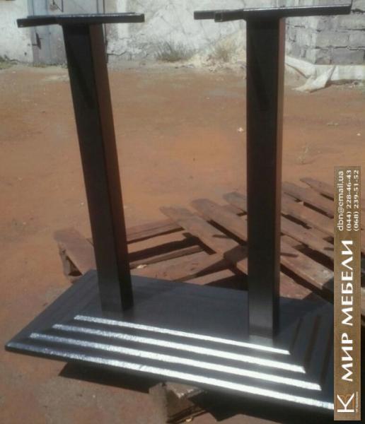Фото  Опора для прямоугольного стола Леман Дабл . Базы для столов по самым низким ценам