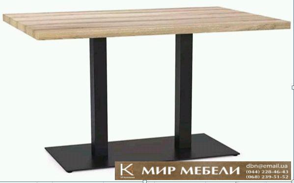 Фото  Опора для стола Лион Дабл 700. База для прямоугольного стола