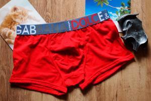 Фото Трусы Gucci & DG Трусы боксеры Dolce & Gabbana красного цвета