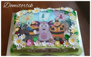 Фото Торты, Детские торты Торт Лунтик