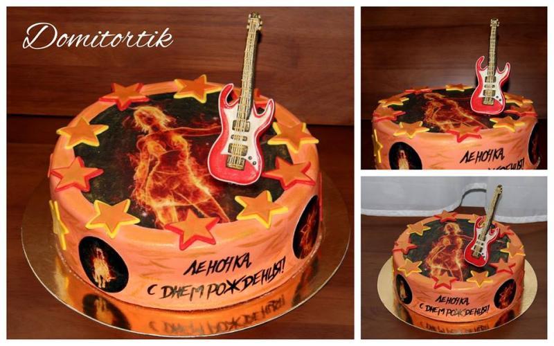 Торт Рок (Rock, рокерше, гитара)