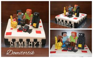 Фото Торты, Детские торты Торт Minecraft (Майнкрафт)