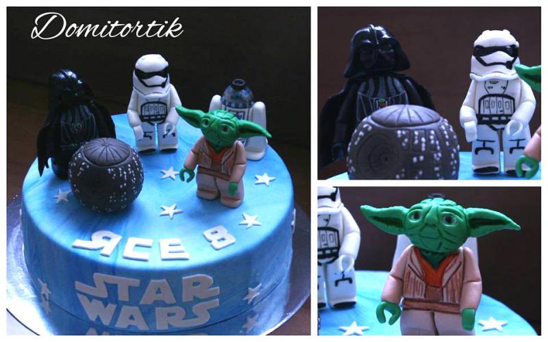 Торт Star Wars (Звездные войны)