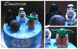 Фото Торты, Детские торты Торт Star Wars (Звездные войны)