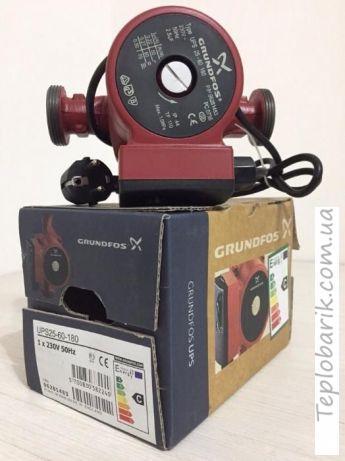 Фото Насосное оборудование, Циркуляционные насосы Циркуляционный насос Grundfos UPS 25*40*180