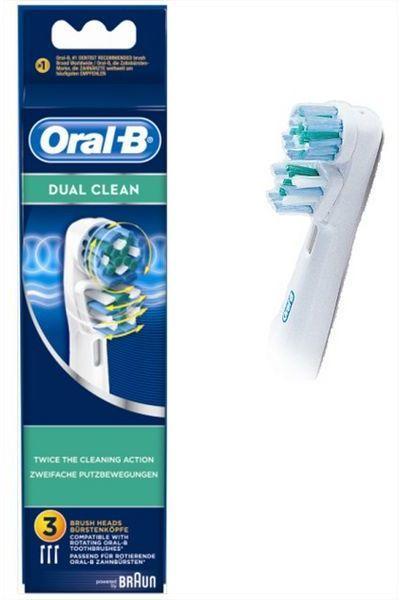 Оригинальные насадки Oral-B dual clean 3 шт