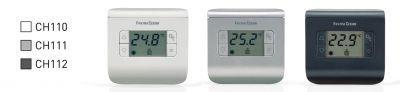 Фото Комнатные термостаты Термостат комнатный электронный СН111 (серебро)