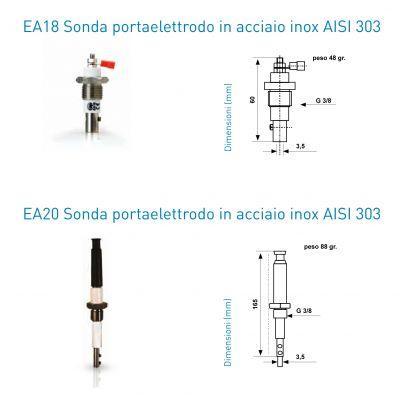 Фото Датчики уровня для электронных регуляторов Датчик уровня Мах.раб.давление 10 bar мах.темп.160˚С G 3/8
