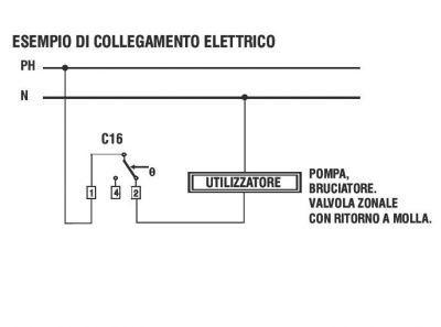 Фото Комнатные термостаты Термостат комнатный механический С16L с лампочкой