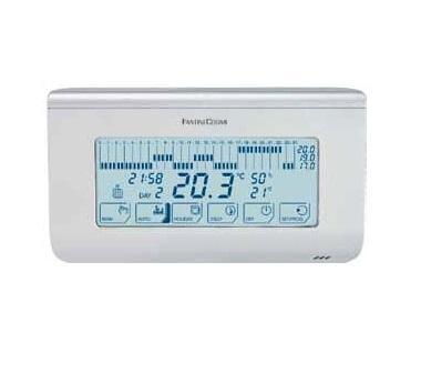 Недельный термостат c сенсорным экраном СН150TS (белый)