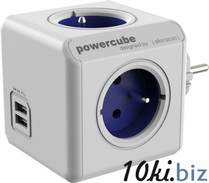"""Удлинитель-разветвитель электрический """"PowerCube Extended USB"""" 16 Ампер, ассорти купить в Беларуси - Удлинители электрические, колодки"""