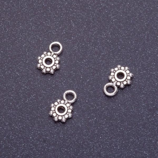 Фурнитура бейл L-9мм d1-6мм d2-1,5мм d3-2мм цвет серебро