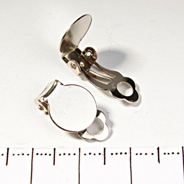 [18 мм] Заготовка Клипсы для сережек цена за пару