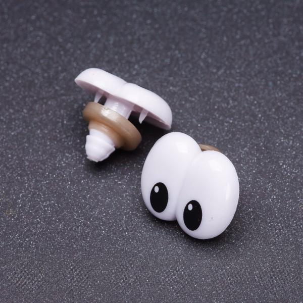 Фурнитура Глазки для игрушек на закрутке