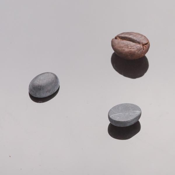 Фурнитура Кабошон мини овал шунгит  d-8х5мм