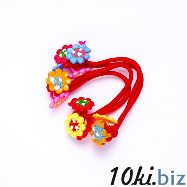 Набор детских резинок для волос Цветочки пара - Резинки и банты для волос в магазине Одессы