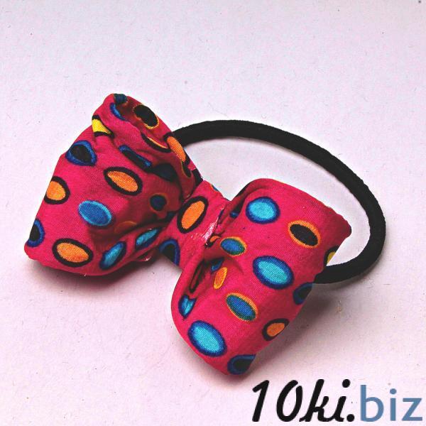 Резинка для волос резинка бант розовый боке - Резинки и банты для волос в магазине Одессы