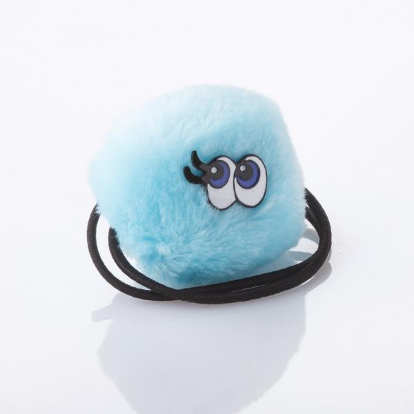 Резинка детская для волос Пушистик d-4cm