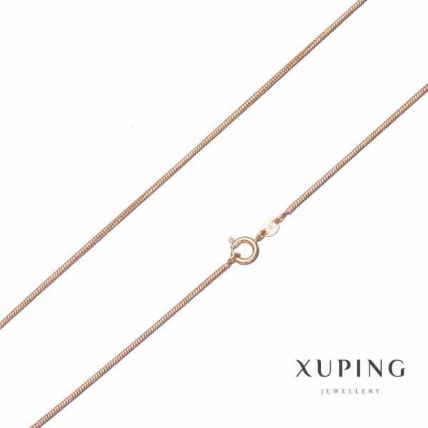 Цепочка Xuping, плетение Жгут  L-45см s-1,45мм цвет золото
