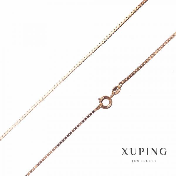 Цепочка Xuping, плетение Квадрат L-45см s-1,99мм цвет золото