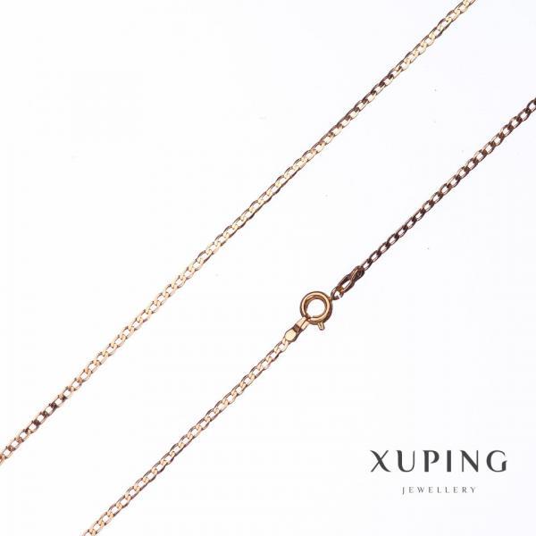 Цепочка Xuping, плетение Панцирьное L-44см s-2мм цвет золото