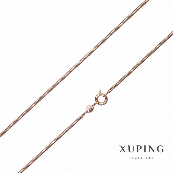 Цепочка Xuping, плетение L-60см s-1,5мм цвет золото