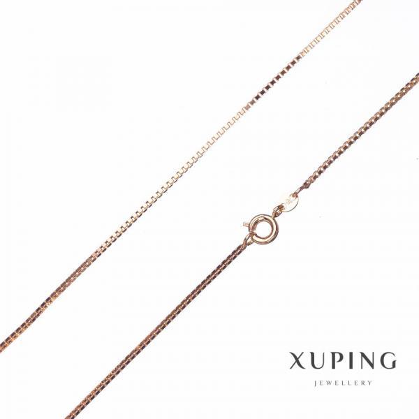 Цепочка Xuping, плетение Квадрат L-45см s-1,3мм цвет золото