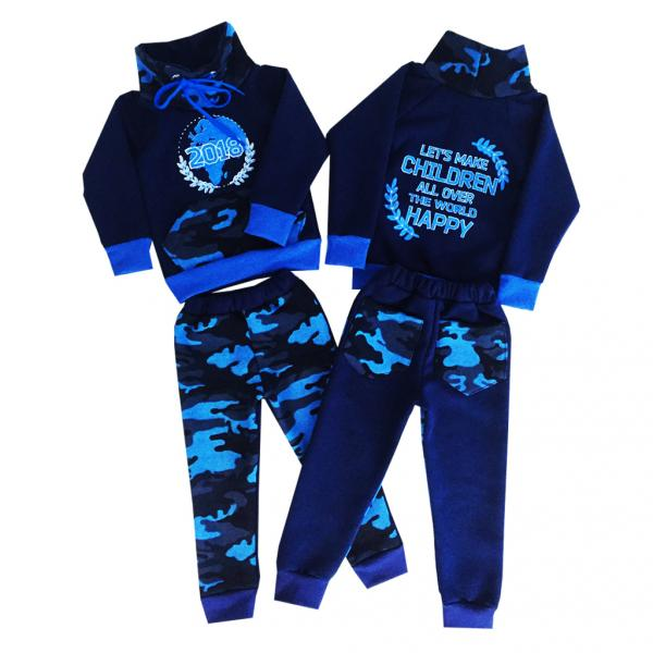 Спортивный костюм «2018» (трехнитка)