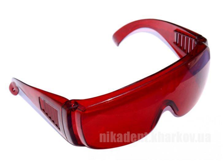 Фото Для стоматологических клиник, Расходные материалы Light Curing Glasses (Anti-fog) - защитные фото очки темно-красные не потеющие