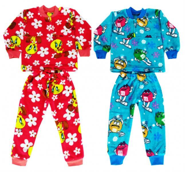 Детская пижама «Tweety» и «M&M's» (махра)