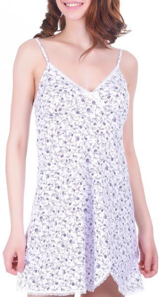 Ночная сорочка Verally 325 фиолетовый узор